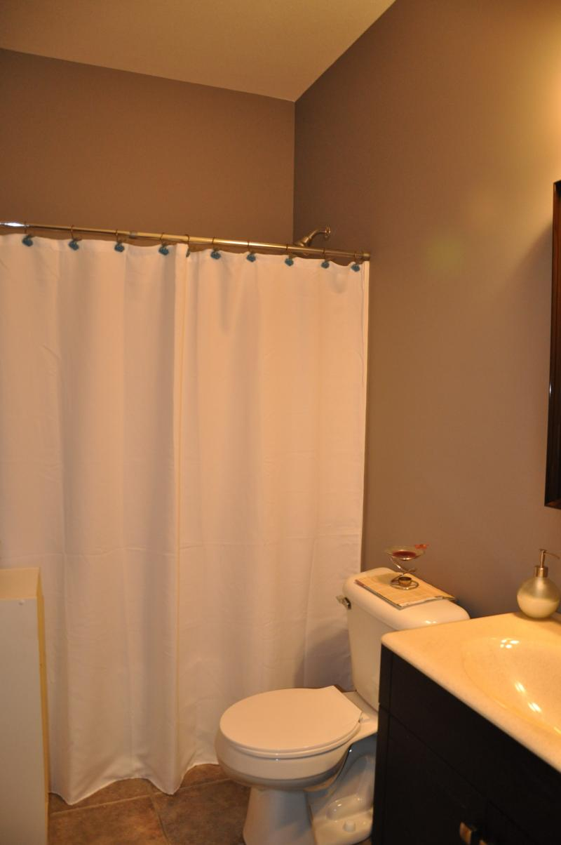 Private Bathroom attached to Spa Room